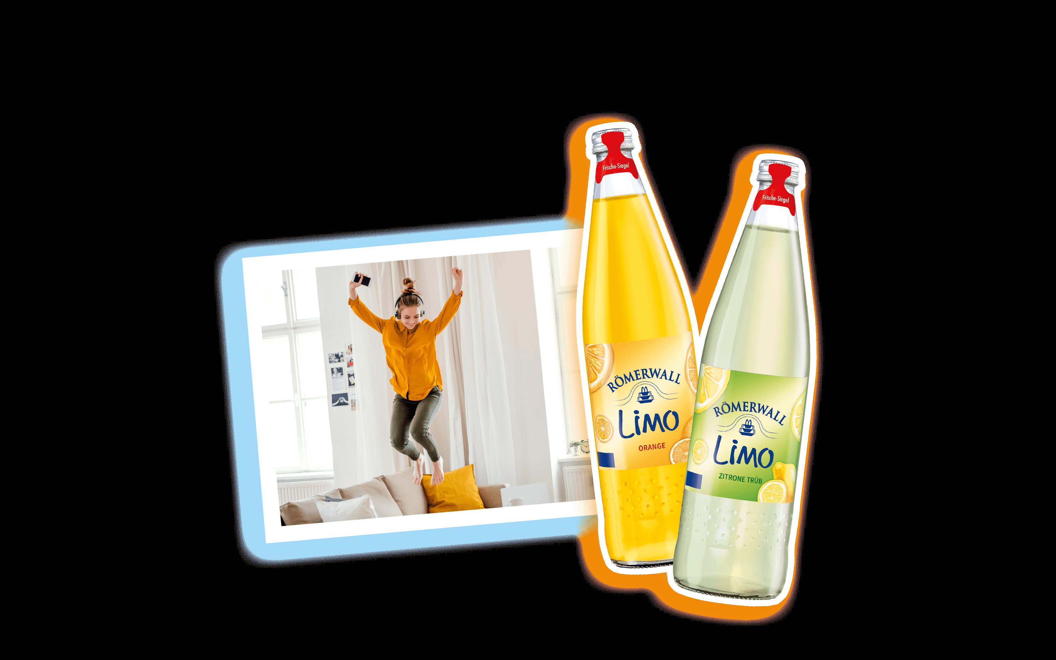 LIMO Orange und Zitrone trüb Hero