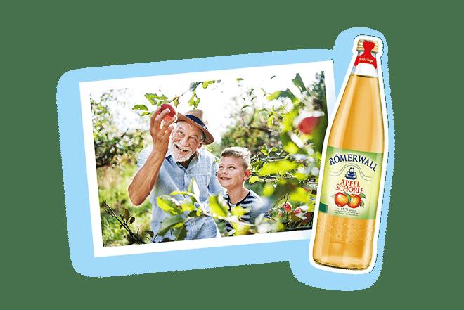 Römerwall Apfelschorle